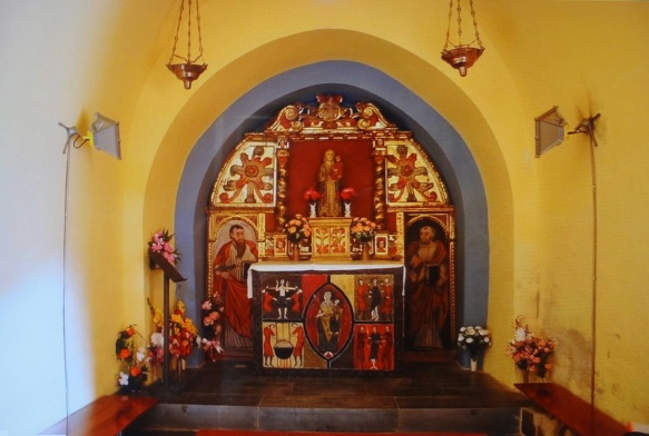 Alter of St. Quirc and St. Julitte, hermitage Sant Quirc de Durro