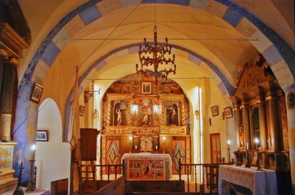 Altar of Santa Maria De Cardet
