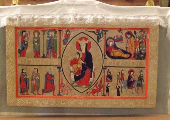 Altar frontal of Santa Maria De Cardet