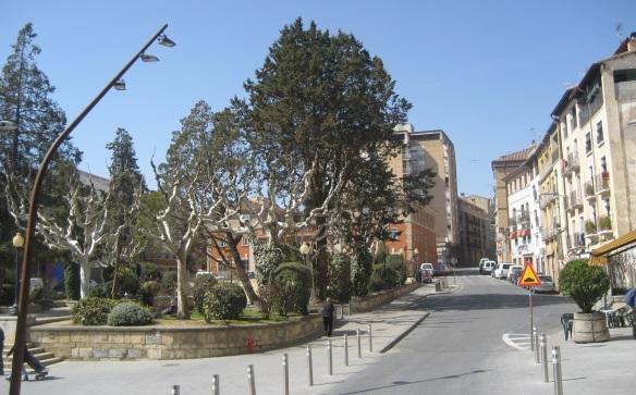 Plaza Aragon de Barbastro