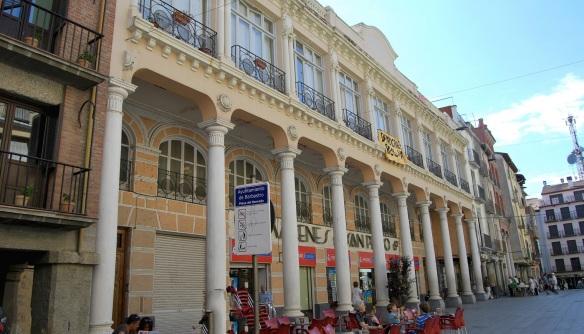 Plaza del Mercado, antiguos Almacenes San Pedro