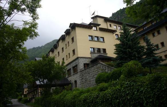 My hotel, Caldes de Boi