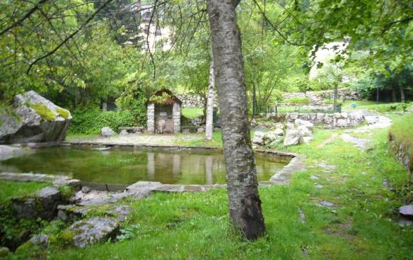 Garden of the hotel