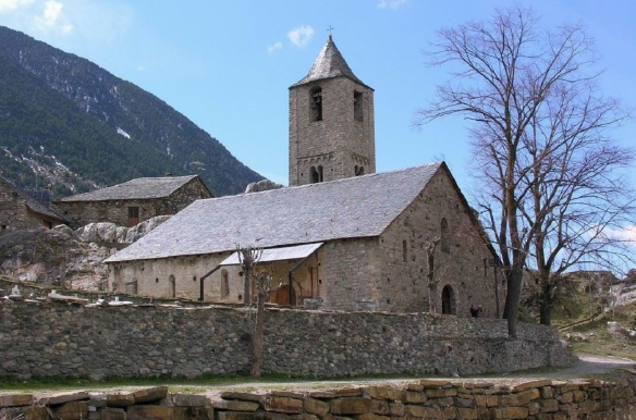 The church of Sant Joan de Boi