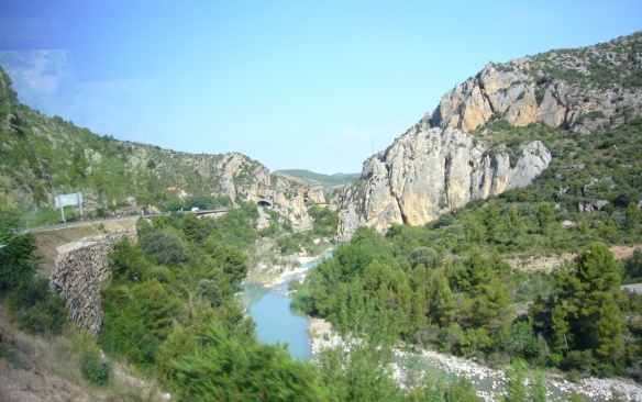 Scenery on the way to Barbastro