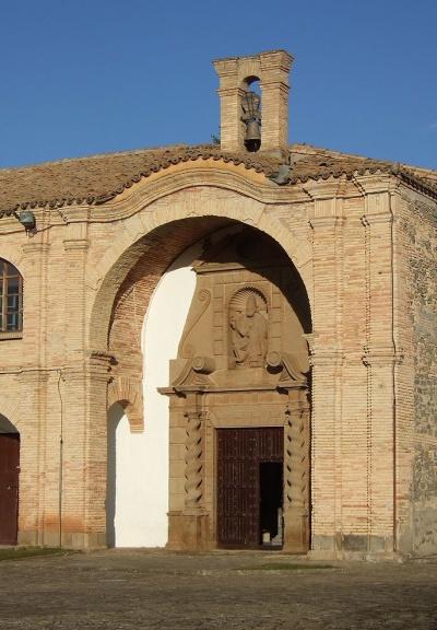 Façade of Castillo de San Pedro Iglesias