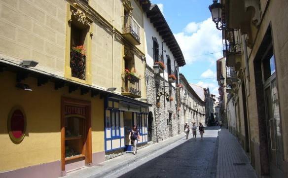 Quiet Street of Jaca