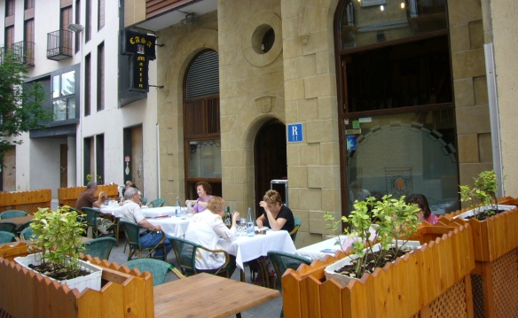 "The restaurant of ""Casa Martin"""