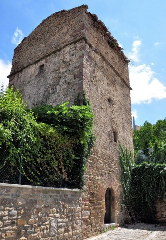 Old tower in Monreal.