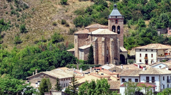 The Church of the Nativity of Our Lady, Monreal, Navarre.