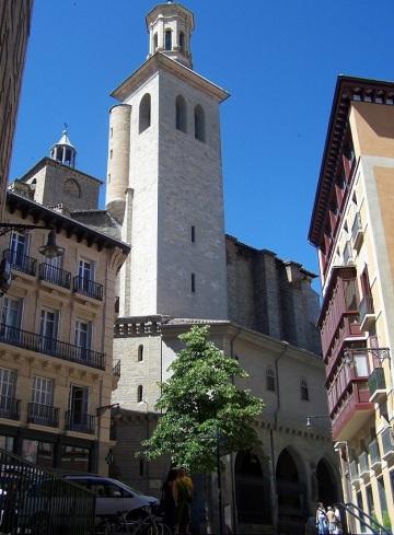 Church of San Saturnino, Pamplona