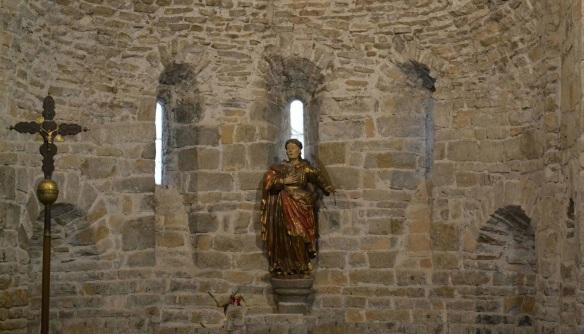 Altarpiece of Iglesia de San Caprasio, Sant Cruz de la Serós.