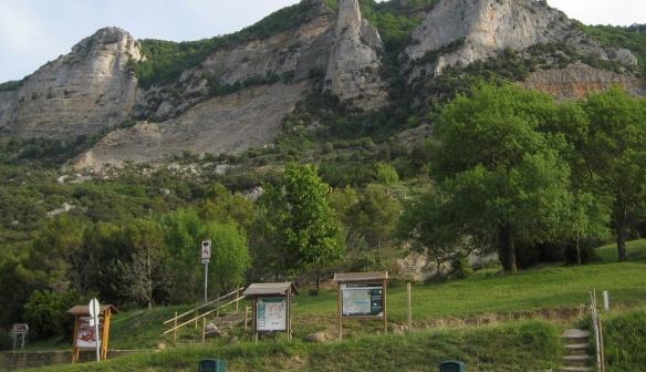 Backyard of the monastery.