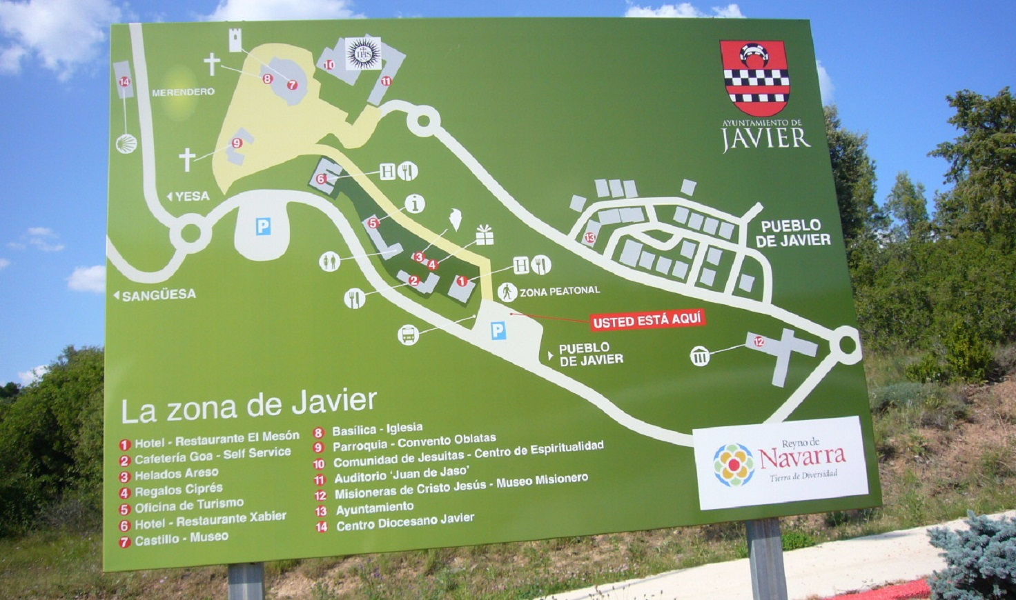Map Of Javier Spain.Javier Pyrenees Spain Weepingredorger
