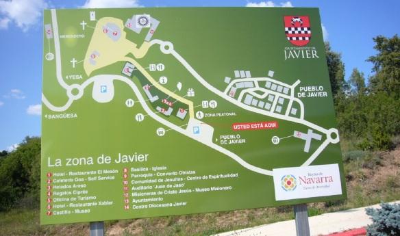 Map of Javier Village.