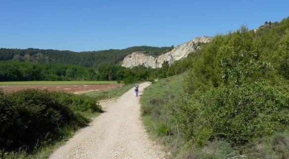 Pilgrim track to Puente la Reina