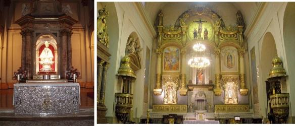 Interior of the church San Lorenzo (St. Lorenzo)