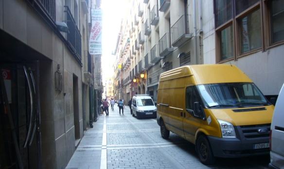 Street called Calle de San Miguel