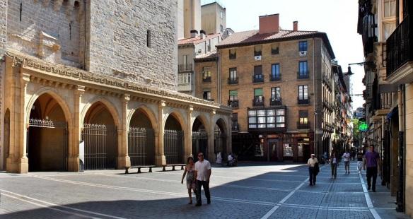 Platz (Square) of the Iglesia San Nikolas