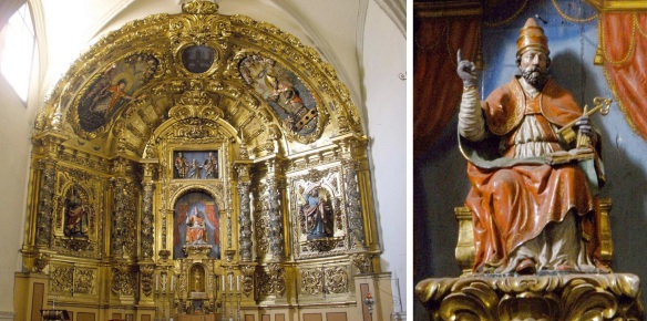 Altar of San Pedro, Church of St. Peter Puente la Reina