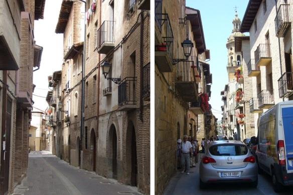Calle Crucifijo (Crucifix Street) and Calle Mayor (Mayor Street)