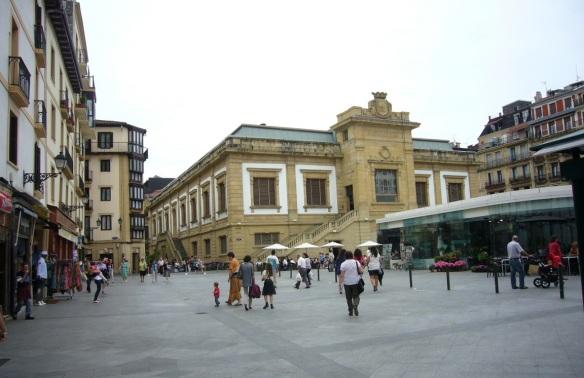 Market Square of San Sebastián
