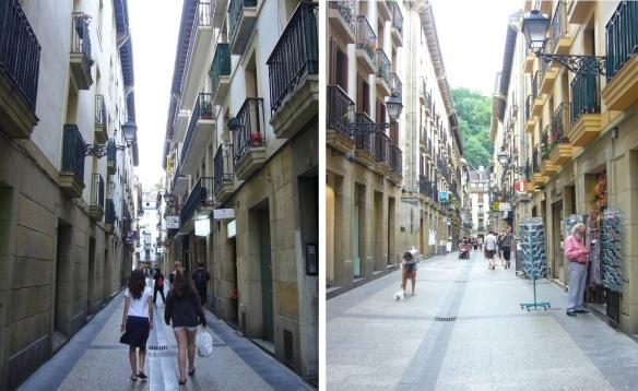 Streets to Plaza de la Constitución (Constitution Square)