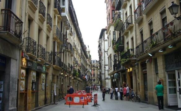 Bar Street of the Old Town, San Sebastián