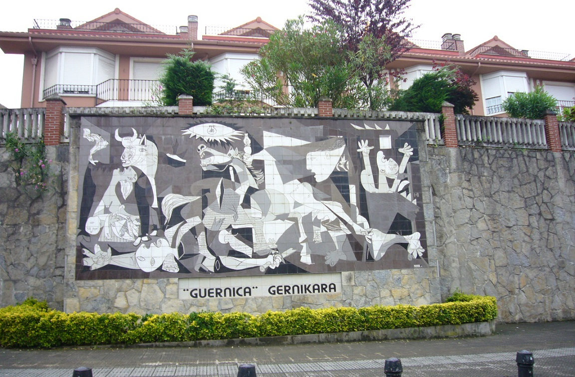 Tree of gernika weepingredorger for Mural guernica