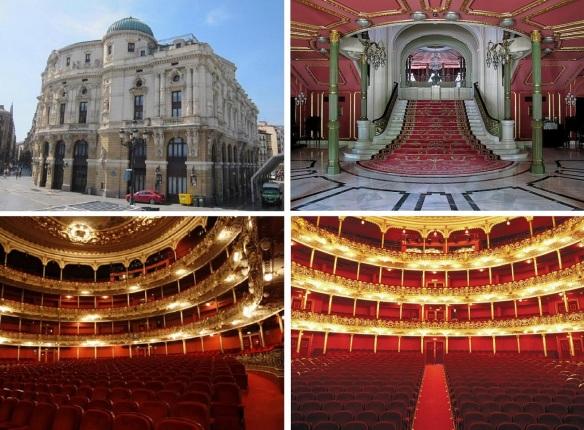 Arriaga Theatre and its interior