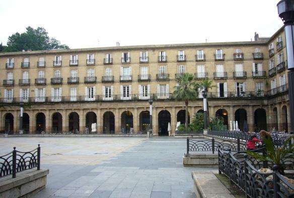 Plaza Nueva (New Square) Bilbao.