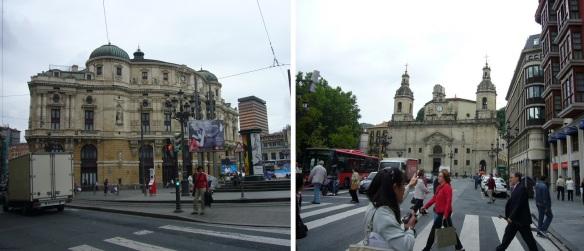 Arriaga Theatre and Iglesia Nicholas on the Plaza de San Nicolas
