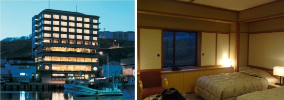 "Hotel ""Hana Rebun""  and my room."