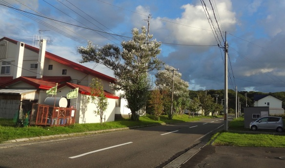 Neighborhood of the hotel Meguma.