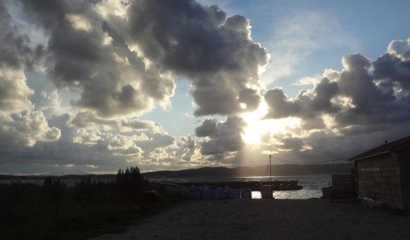 Scenery of Cape Koema