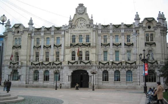 City Hall of Santander