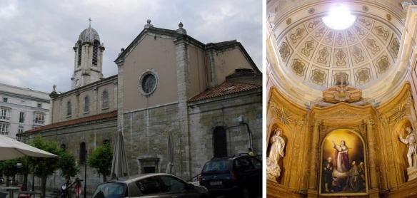 Iglesia de Santa Lucia (St. Lucy Church) Santander.