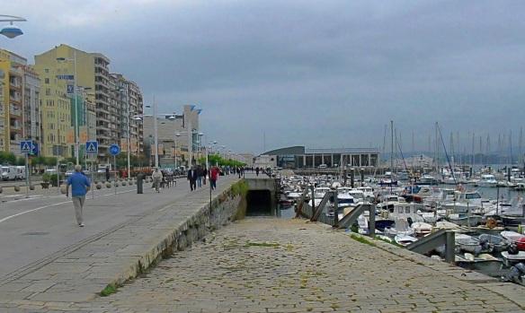 Dock Puertochico in Santander