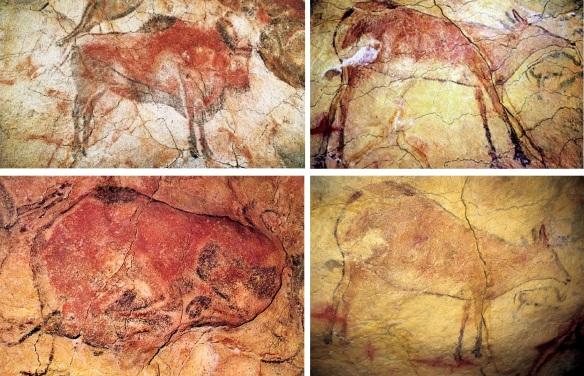 Great rock paintings.