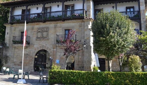 My booked hotel Los Infantes Santillana del Mar