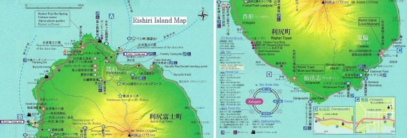 Rishiri Island Map