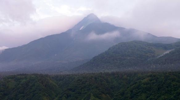 Mt. Rishiri, it's also calld Mt. Rishiri Fuji.