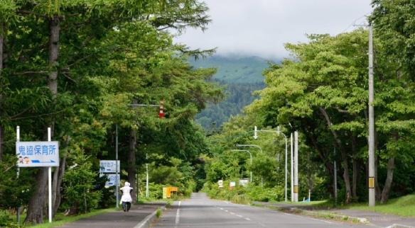 Getting into the Oniwaki village