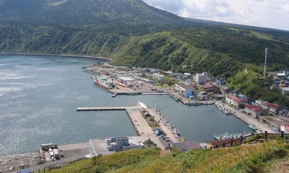Oshidomari Poat, Rishirifuji Town.