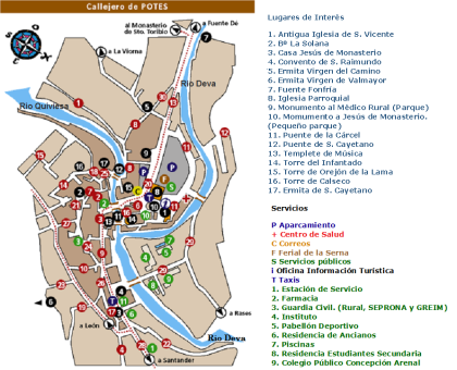 Potes Map