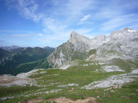 Scenery of the Picos de Europa