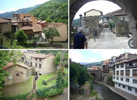 Walking around the town of Potes
