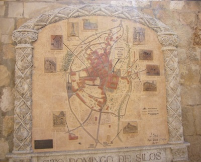 Found this map of Santo Dominguo Silos at a street.