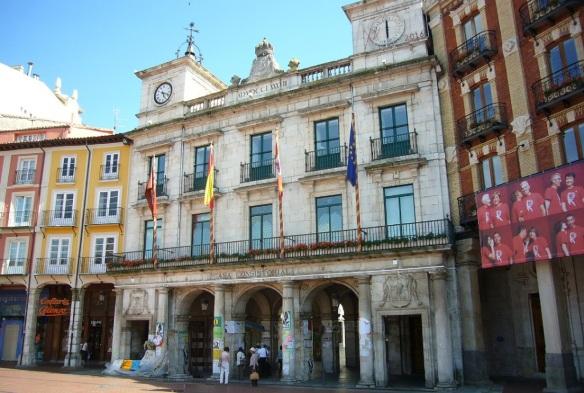 City hall of Burgos