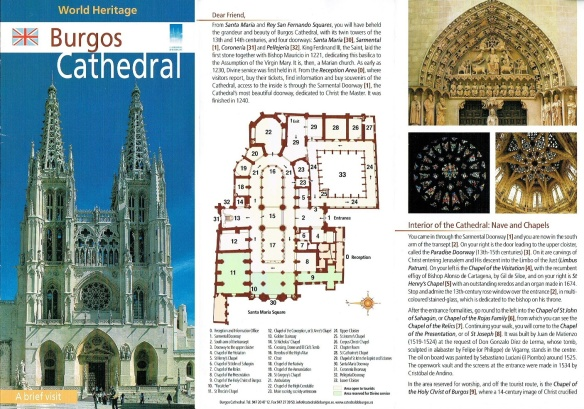 Explanation of Burgos Cathedral